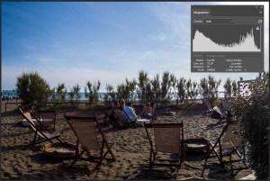 Photocafè.it - Foto ad alto contrasto e relativo istogramma