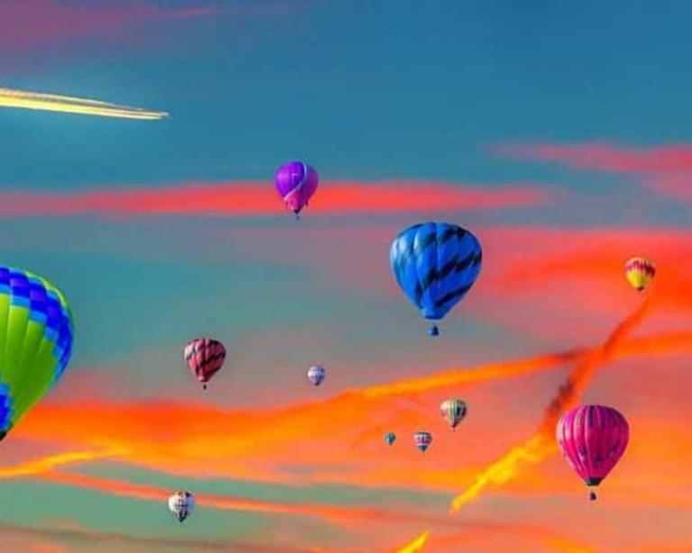regalar experiencias, entre ella hacer un viaje en globo