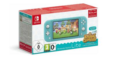 Nintendo Switch Lite Turquesa + Animal Crossing New Horizons