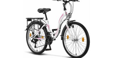 Licorne Bike bicicleta de ciudad con cambio shimano