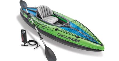 Intex 68305NP - Kayaks deportivos (Kayak inflable, 1 personas(s), 100 kg, PVC