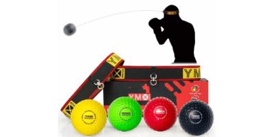 YMX BOXING Pelotas de Reflejo/Boxing Reflex Ball — 4 Pelotas de Reacción de Reflejo