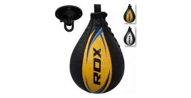 RDX Velocidad Bola Cuero MMA Peras Boxeo Pera Rápida Speed Bag
