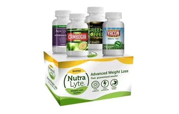 Le système complet Nutra Lyte en 4 pas - Détruit les cellules adipeuses
