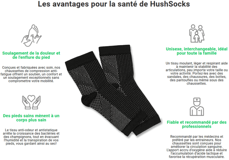 Qu'est-ce que c'est Hush Socks?