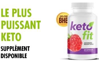 Keto Fit est un supplément alimentaire destiné à t'aider perdre du poids plus vite