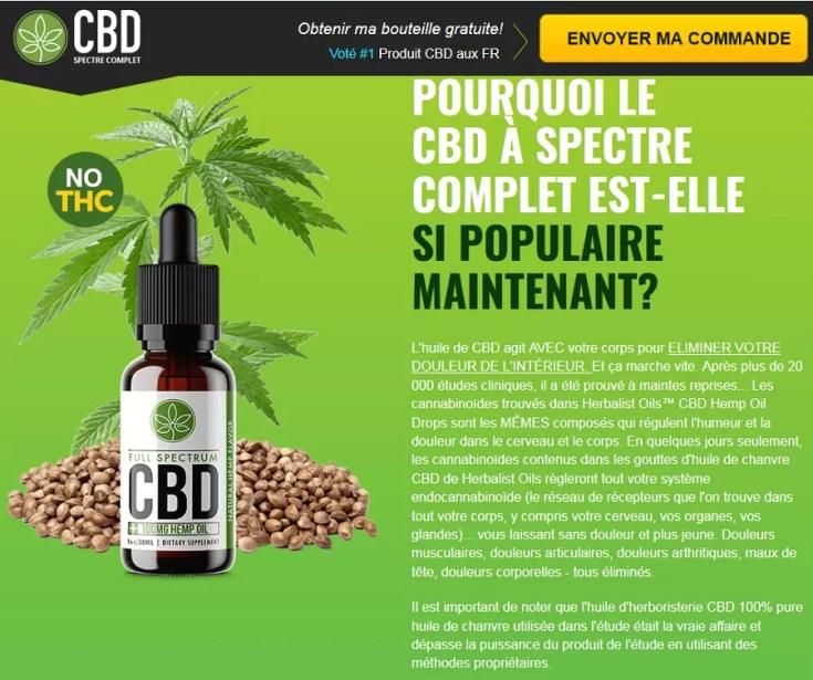 Qu'est-ce que Full Spectrum CBD Oil?