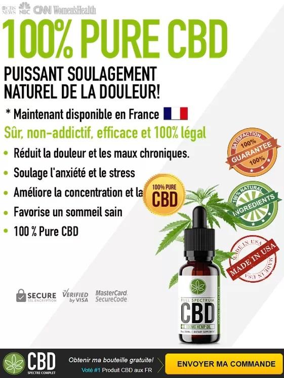 Full Spectrum CBD Oil - 100% Pure CBD