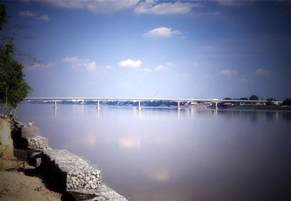 Vientiane Friedensbrücke