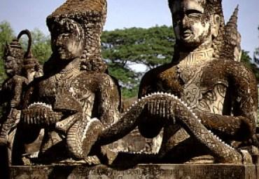 Vientiane - Buddha-Garten