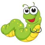 soñar con gusanos