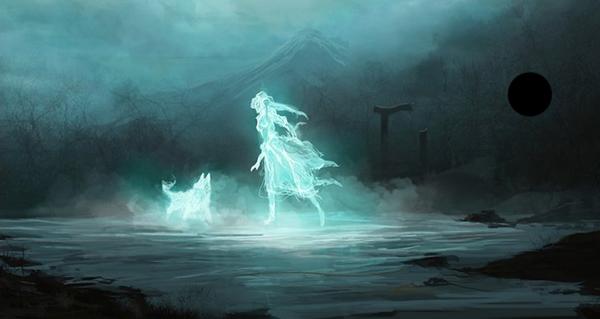 Soñar con espíritus