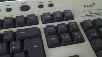 pic fr - tastatur details