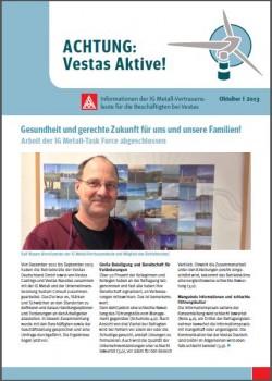 Vestas Infoblatt Oktober 2013 Husum