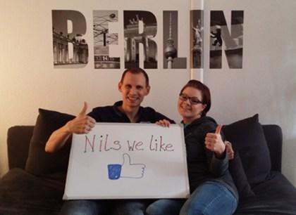 Solidarität aus Berlin