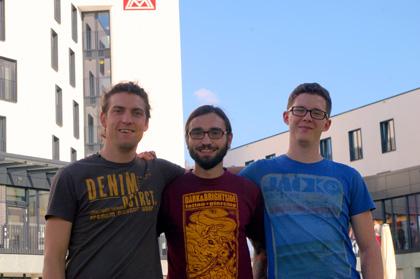 Kai Hofmann, Oliver Seitz und Fred Heise