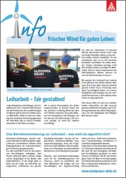 Senvion Infoblatt  Januar 2014
