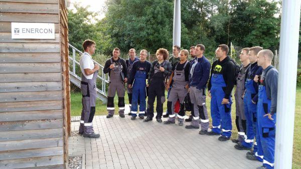 ...auch in der neuen WEA Service Nord-Ost GmbH