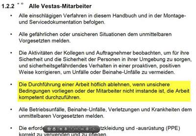 Vestas OHS Manual