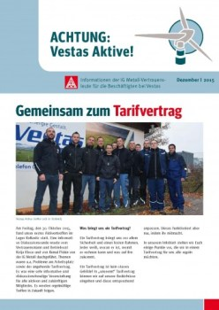 Vestas Infoblatt Dezember 2015