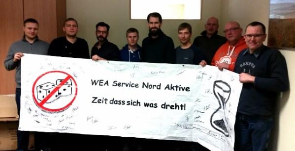 """""""Der Betriebsrat der WEA Service Nord"""""""