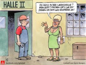 Cartoon: Harm Bengen
