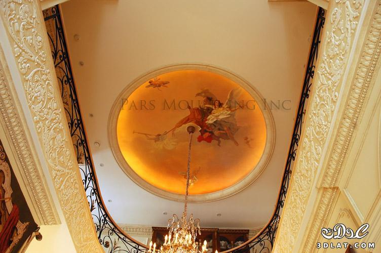 ديكورات الجبس ديكورات جبس المنازل بورد للاسقف2014
