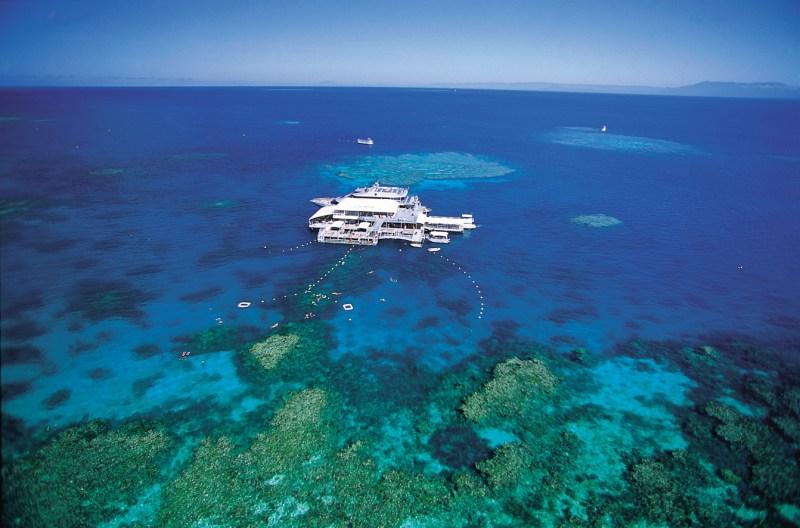 Aerial of Reef