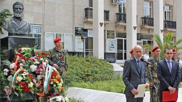 Хасково се поклони пред подвига на Ботев загиналите за Освобождението