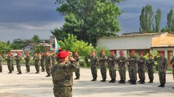 Новобранци се заклеха в хасковския батальон