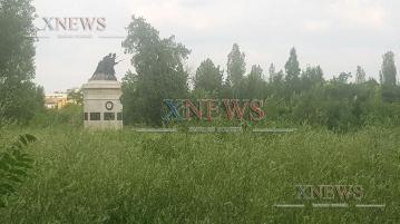 Общината почва пустеещия парк зад ДНА заедно с бившата казарма