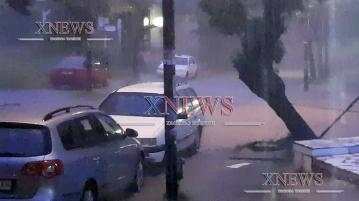Буря вилня в Хасково (ВИДЕО)