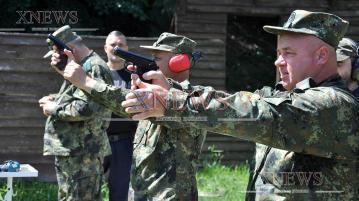 Полицаите с най-точен мерник на стрелбите в Хасково