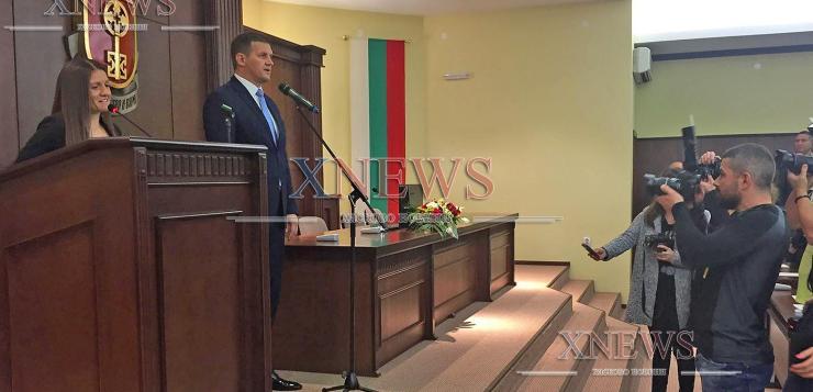Станислав Дечев и новите съветници положи клетва, Таня Захариева отново председател на ОбС