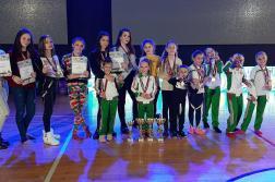 """Танцьорите на """"Галаксико"""" с триумф на Международно танцово състезание в Сърбия"""