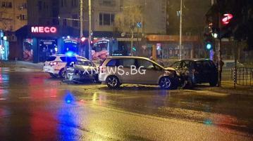 """Три коли се помляха на бул. """"Раковски"""""""