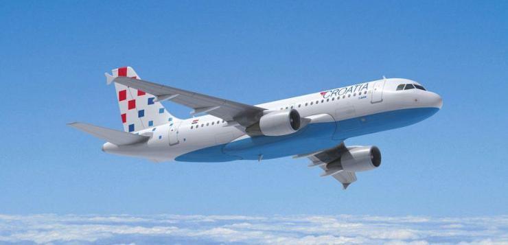 Хърватските авиолинии стартират полети до София и Подгорица през май