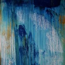 Prelude 3 (Acrylic on canvas 150 x 100 cm.)
