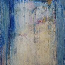 Prelude (Mixed Media,Acrylic on Rothko print on board 110 x 83 cm)