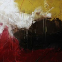 Let it be love, acrylic on canvas, 1.5m x 2m