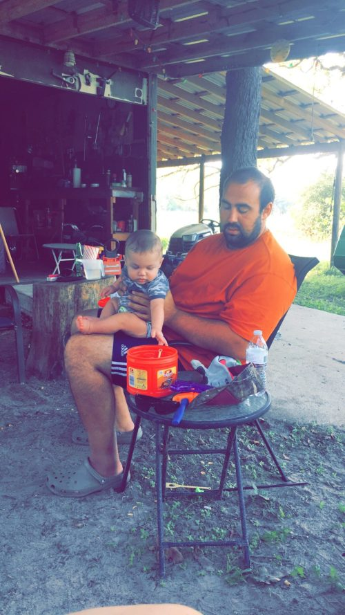 landon and daddy