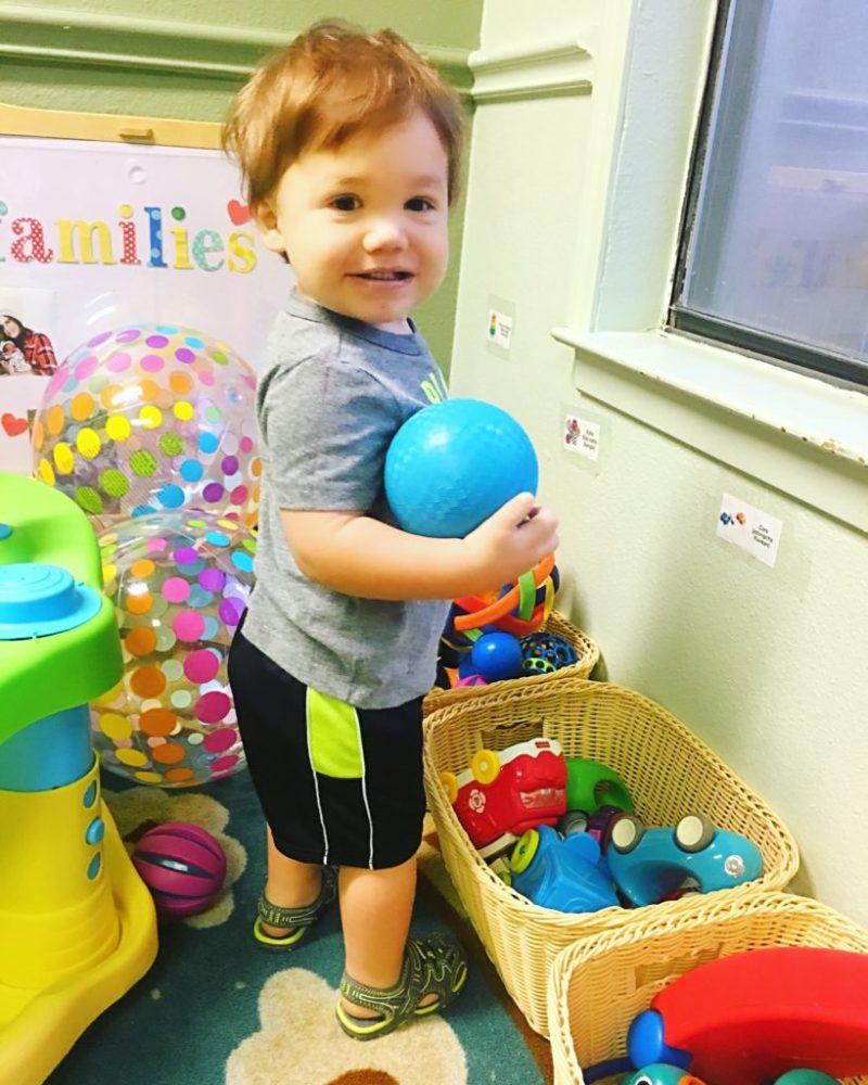 landon at daycare