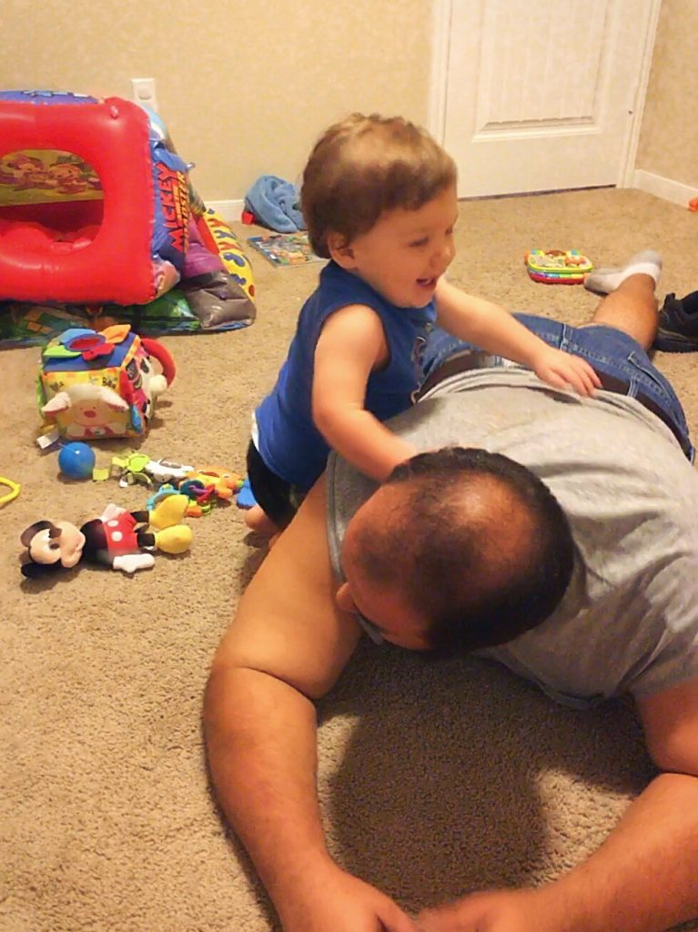 daddy play time
