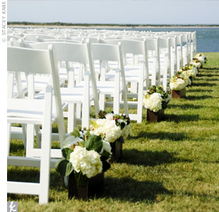 Wedding Ceremony Aisle Decor On Decorations With Outdoor Amp Reception By Holly