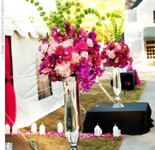 Floral Entrance Decor