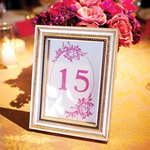 Magenta Table Numbers