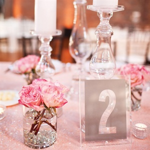 DIY Acrylic Table Numbers