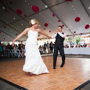 Tented Dance Floor