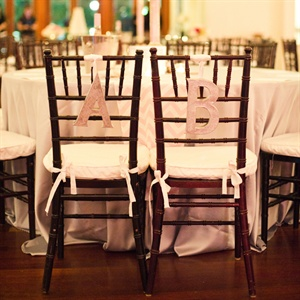 Bride and Groom's Chairs