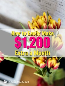How to Make $1,200 Extra a Month